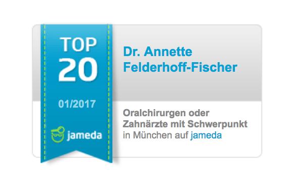 Auszeichnung als TOP 20