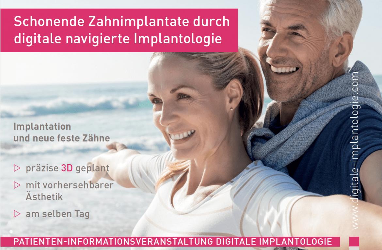 schonende Zahnimplantate durch digitale navigierte Implantologie